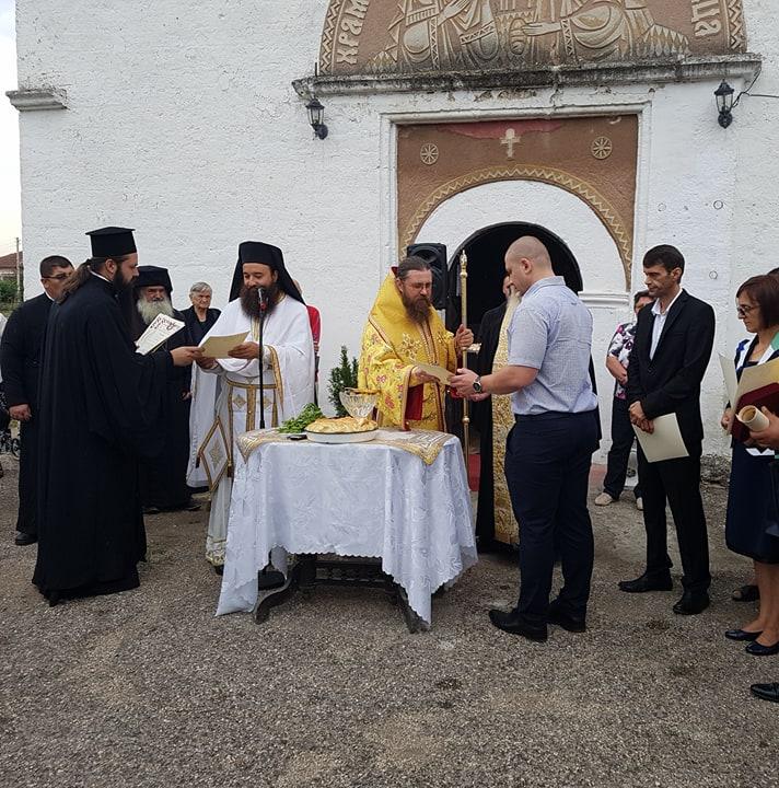 Подарък за храмовия празник на църквата в Дунавци
