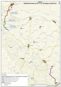Karta Vidin-Botevgrad